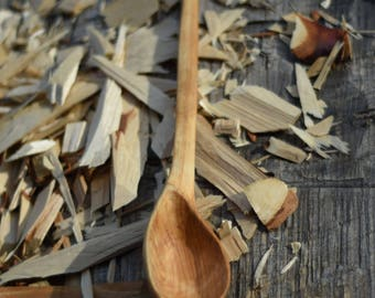 Yellow Birch Serving Spoon