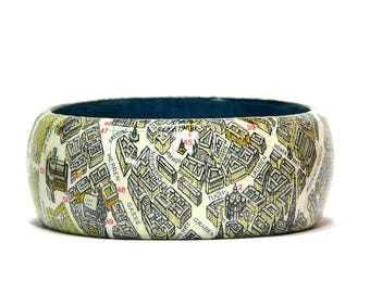 Bangles Vienna Vienna city map inner city panorama gift packaging gift for you gift for travelers