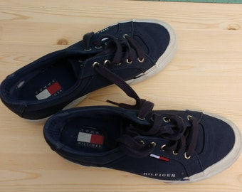 Vintage Tommy Hilfiger Shoes Size 8 Men's Skater Canvas Kicks