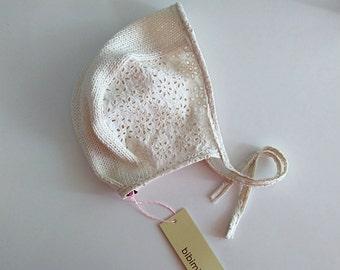 Cap Cotton Sangallo Ivory