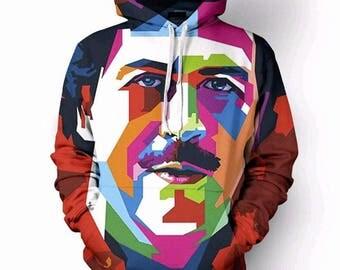 Pablo Escobar 3D Hoodies Full Print