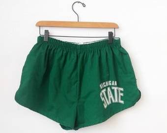 Vintage Michigan State Shorts