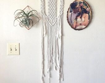 Medium Macrame Wall Hanging (Long)