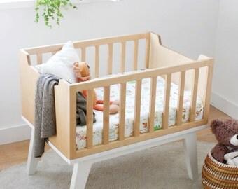 WOOD cradle / cot / crib