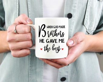 Best Brother Mug, Gift For Brother, Mug For Brother From Sister, Brother Gift, Gift Idea For Brother, Birthday Gift For Brother,Brother Mug