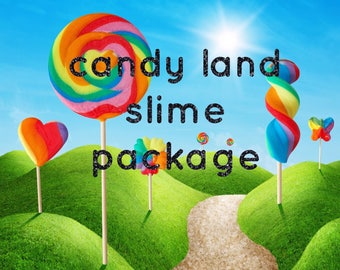 candy land slime package