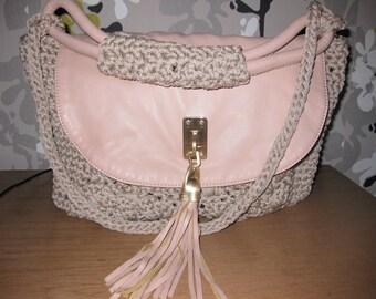 Handmade elegant bag,crochet bag, handmade, gift for her