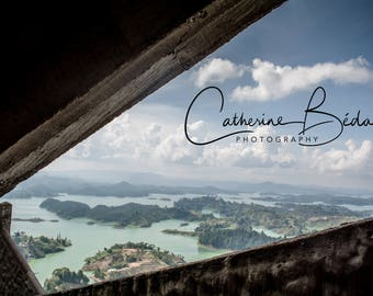 Colombian landscape wall art canvas