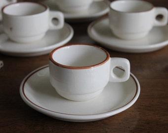 South American Stoneware Espresso Set