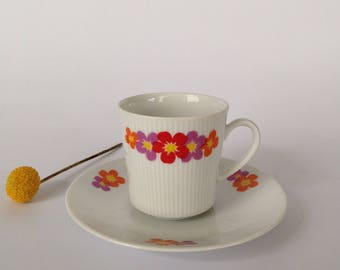 Years 70 tea cup and dish-Winterling Bavaria-Made in Germany