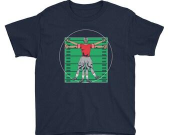 Kids Football T Shirt - Football Shirt For Kids - Football Lover Gift - Youth Football T-Shirt