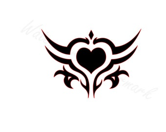 Tribal Heart SVG and Studio 3 Cut File Logo Decal Design Decals for Cricut Brother Silhouette Cutouts Files Downloads Love Hearts SVGs