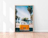 Beach Wall Decor, Beach Printable Art, Tropical Printable Poster, Surf Wall Art, Beach Wall Art Printable, Digital Print, Digital Download