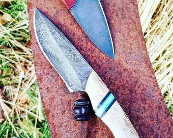 6 Inch Damascus Hunting Knife