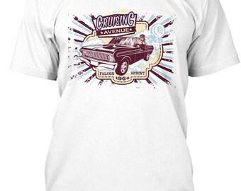1964 Ford Falcon Sprint Cruising Hot Rod T-Shirt