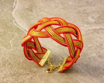 Paula Golden Grass Bracelet