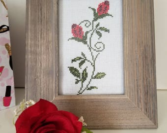 Handmade Frame Picture - Embroidered Picture - Cross Stitch -Home Decor