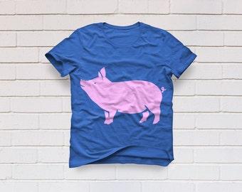 Show Pig svg, Pig svg, Farm animal svg, Livestock svg, Pig shirt, Pig silhouette, Pig clipart, SVG, DXF, eps, png, pdf, Farmhouse svg, Farm