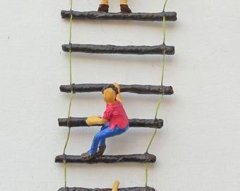 Ladder of Life Paper Sculpture