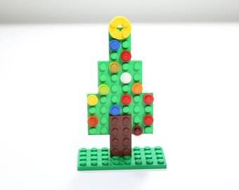 DIY LEGO Christmas Tree Ornament