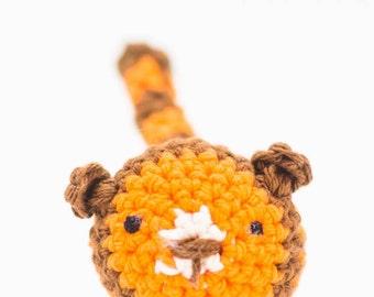 Tiger Stuffed Animal - Crochet Tiger Toy - Amigurumi Tiger - Baby Gift - Ornament