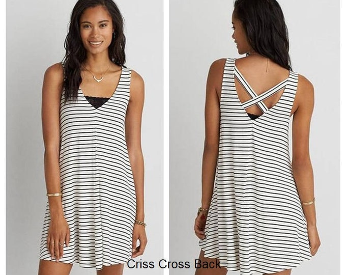 Summer Tunic or Swim Cover Up