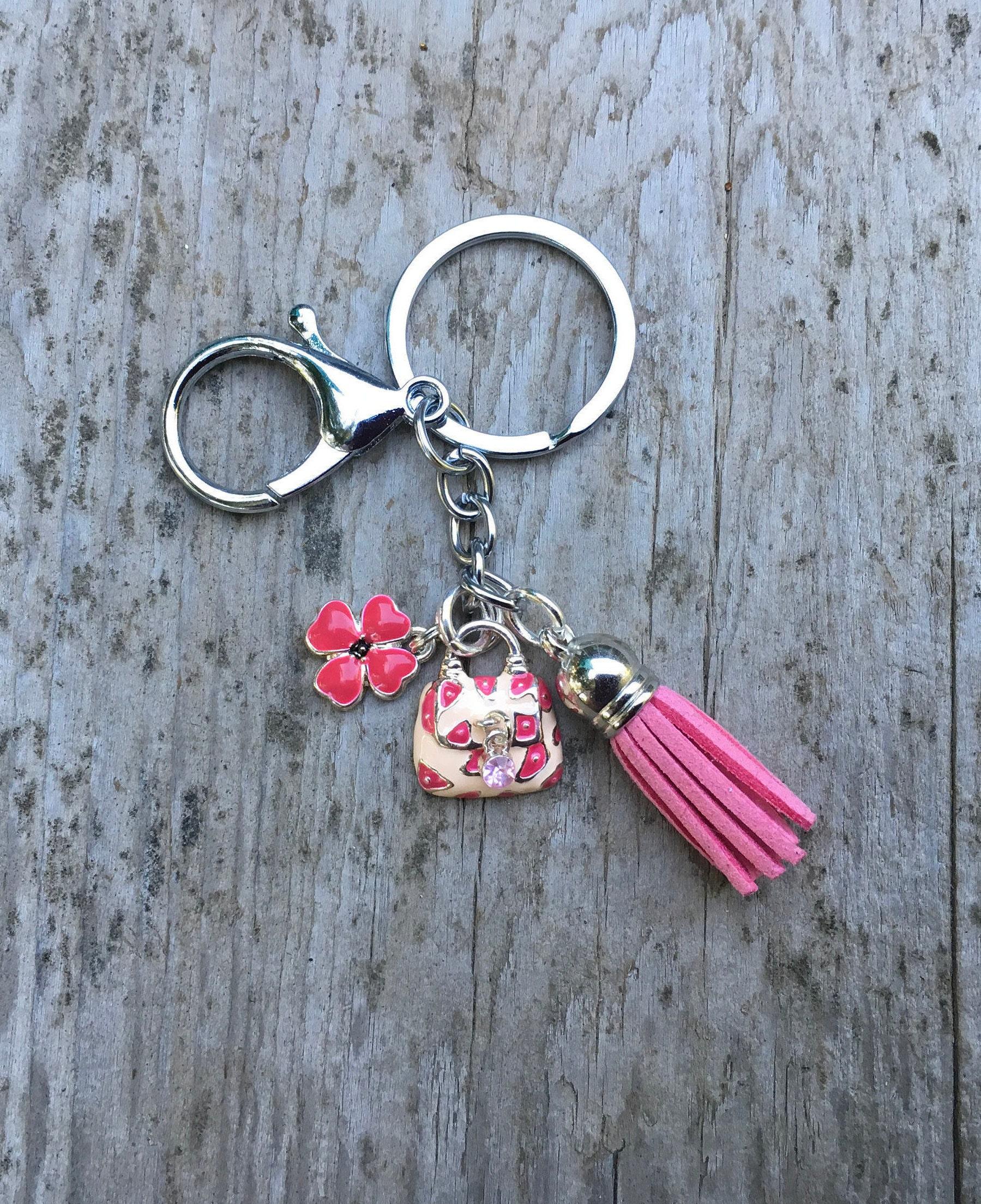 key chain charm key chain gift for women key fob cool key chain cute
