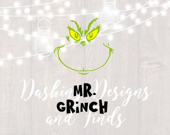 DIGITAL DOWNLOAD christmas svg - grinch svg - how the grinch stole christmas - holiday svg - christmas shirt - silhouette - cut file