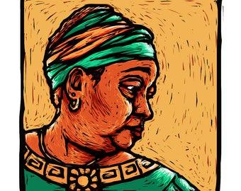 Earth Mother Fine Art Giclée Print