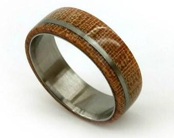 Titanium Micarta Ring, Weaver's Ring, Micarta Rings, Unique Wedding Ring, Women's Wedding Band, Men's Wedding Band, Micarta Scales, GJG
