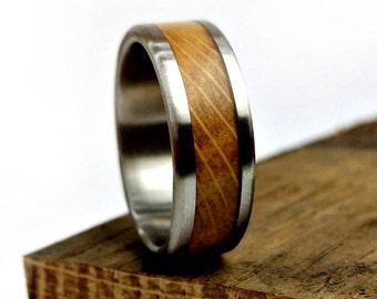 Wedding Ring, Whiskey Barrel Ring, Engagement Ring, Handmade Jewelry, Jack Daniel's, Ring for Men, Women Ring, Grand Junction Guy, Planning