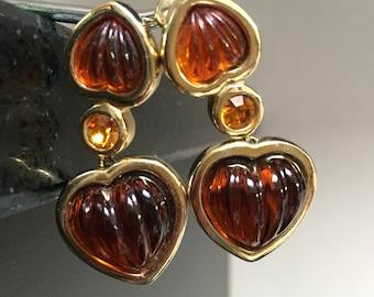 Dior Earrings Etsy
