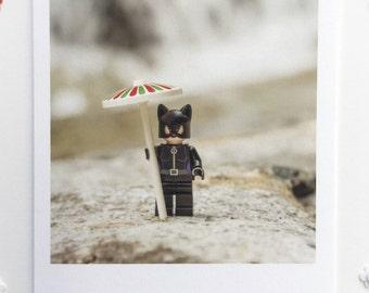 Waiting for the Rain (blank greeting card)