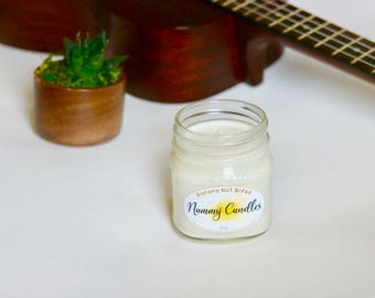 Banana Nut Bread All Natural & Handmade Soy Candle
