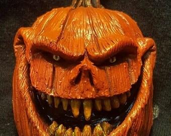 Evil Pumpkin Magnet - FREE DOMESTIC SHIPPING