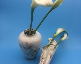 Vintage vase, vintage wall vase, 1950s