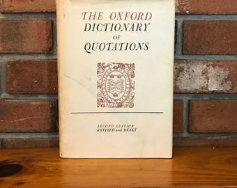 The Oxford Dictionary of Quotations, 1953