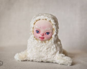 Collection doll Doll pattern Rag doll Waldorf doll Doll handmade Collection toy Collectible doll Collectible toy Interior doll Vintage style