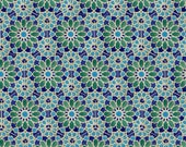 Private listing for David M 50% down Blue and Green Tiles  Kitchen Backsplash Tiles Decorative Tiles - Moroccan Coasters - Pastel Stoneware