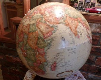 Desk globe etsy vintage replogle globe 1991 world globe world globe table globe globe gumiabroncs Image collections
