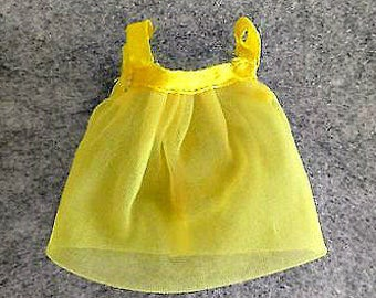 1970 Htf Glamour Group *YELLOW CHIFFON NIGHTIE* #1510 Sears Exclusive  -Perfect! -Vintage Nightgown