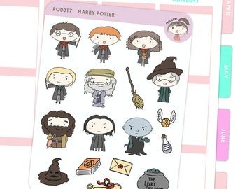 Harry Potter Inspired Stickers / Planner Stickers
