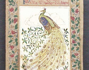 Tiny Poetry Book - Poems Of Reflection Emma Wheeler Wilcox c. 1910