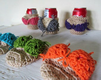Booby Cozy, Pop Cozy, Beer Cozy, Bikini Cozy, Coozie, Pop Cover ADULTS ONLY