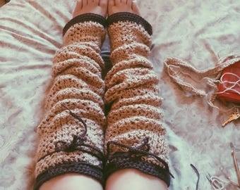 Over the Knee Leg Warmers | Crochet Leg warmers | Thigh Highs | Boot Socks | Winter Socks | Leg warmers | Knee highs | smalltowncoven
