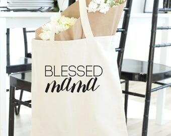 Blessed Nana, grandma tote, nana tote, tote bag, glam-ma, mothers day gift, mothers day, Nana mother's day gift, nana gift