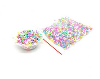 20g of fake colorful sprinkles