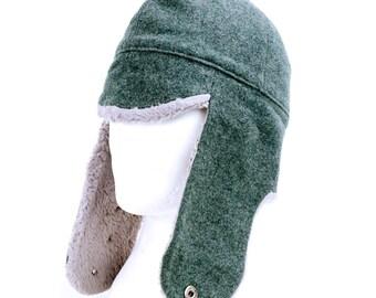 Vintage Swiss Army Wool Hat