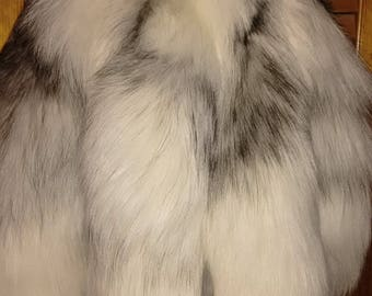 Ranched Marble Fox Tails, Ready to Wear!