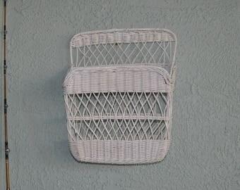 Old Wicker Basket/ Wall Hanger